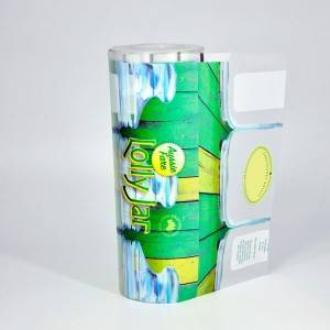 Factory Price Zip Lock Aluminum Foil Bag -