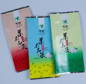 Vacuum Tea Packaging Pouch