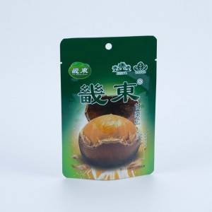 Standing Up Pouch For Chestnut Snack Food