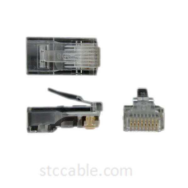 Cat 5e RJ45 Solid Modular Plug Connector