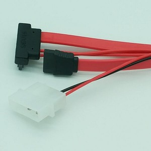 Right Angle Slimline SATA Power Cable