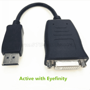 DisplayPort to DVI Active Adapter