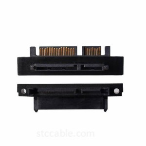 Right Angle 22 Pin Serial ATA Extension Adapters