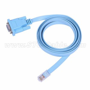 Console Cable RJ45-to-DB9
