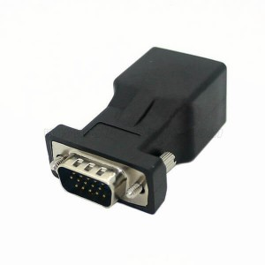 Extender VGA male to RJ45 Network Adapter