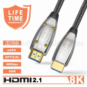 HDMI 2.1 Fiber Optic Cable