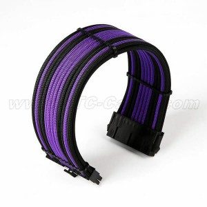 Sleeved Power Supply cable