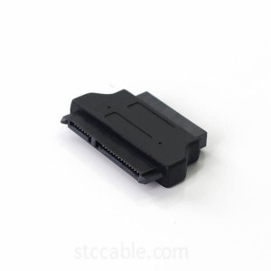 SATA 7+15 22P Female to Slim SATA 7+6 13P Male Adapter Male to Female Converter