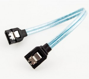 SATA3 26 AWG Cable (Straight to Straight with Latch)