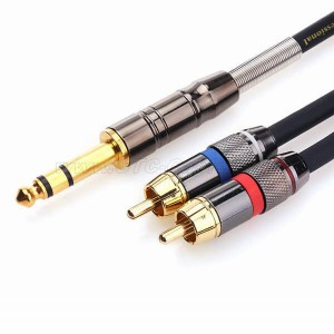 TRS to Dual RCA Cable