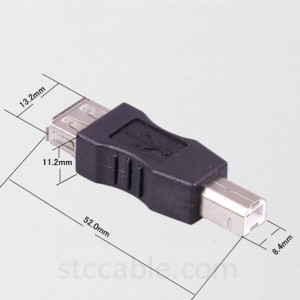 USB 2.0 A type Female to USB B type Male BM printer Scanner Adapter