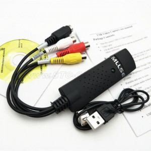USB 2.0 to RCA Cable Adapter Converter