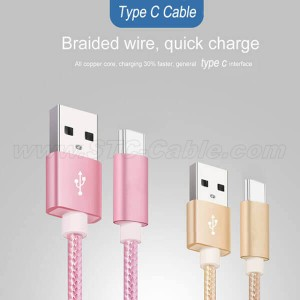 USB Type C Cable 3.1 Fast Charging Cable
