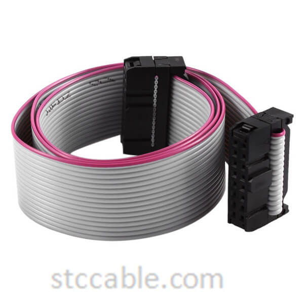 2.54mm Pitch 2x8P 16 Pin 16 Wire female to female IDC Flat Ribbon Cable 18 inch