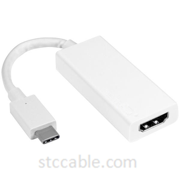 USB-C to HDMI Adapter – White