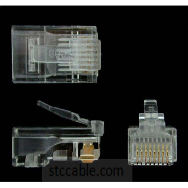 Cat5e RJ45 Stranded Modular Plug Connector