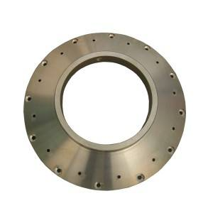 Brass CNC Precision Machining Product / Flange