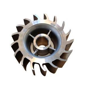 Custom Stainless Steel Impeller by Investment Casting