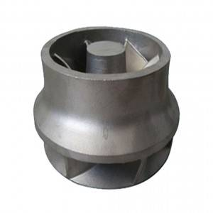 Stainless Steel Centrifugal Pump Closed Impeller by Lost Wax Investment Casting