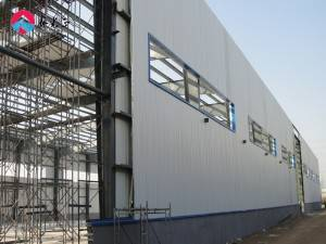 Large Span Steel Structure Prefabricated Warehouse Workshop Hangar Buildings and Materials