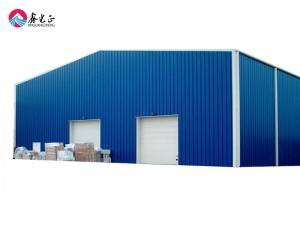Prefabricated steel structure metal frame warehouse workshop shed building