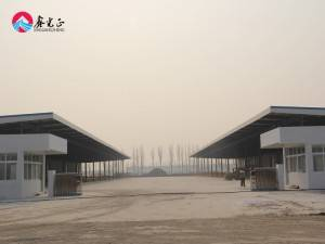 Factory Price Steel Gantry Structure Building Materials Structural Steel Fabrication Warehouse