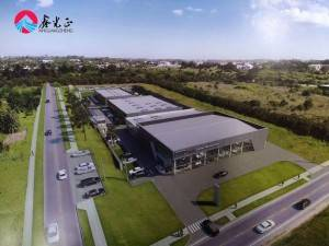 ISO certificate Prefab supplier prefabricated steel structure building for exhibition