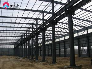 China cheap prefab metal frame light prefabricated steel warehouse Structure workshop building factory shed construction drawing