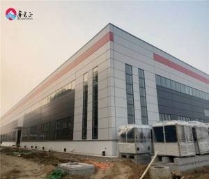 Famous steel structure workshop prefab steel structures