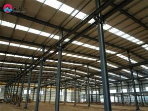 2021 High standard Modular Prefabricated Metal Frame Steel Structure warehouse building