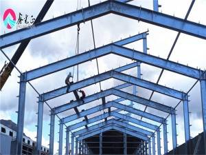 Low Price Hot Galvanized Philippine Steel Structure Building Prefab Steel Warehouse