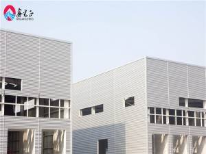 Low cost prefab steel structure warehouse building design