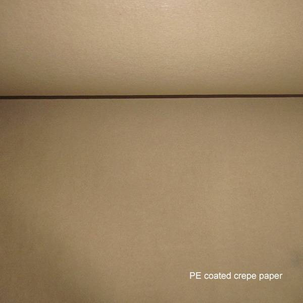 Factory supplied PE coated crepe paper for United Kingdom Importers