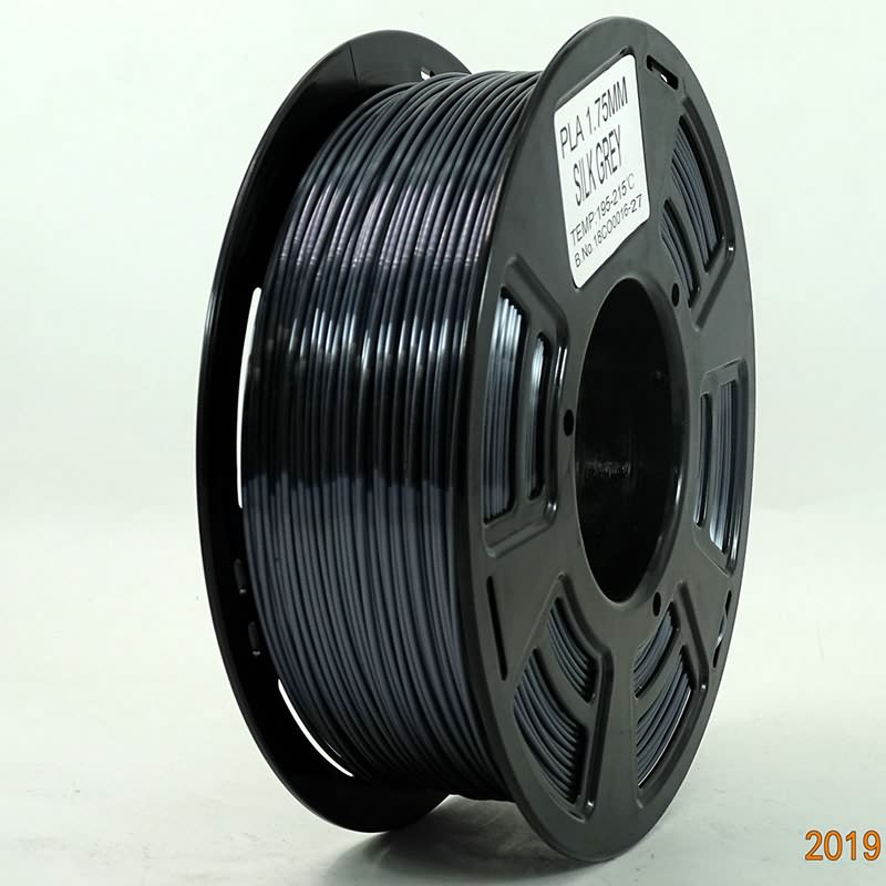 New Premium Stronghero3D 3D Printing PLA Filament 1.75mm Metal Dark Grey//Gray Silver Net Weight 1KG Accuracy //-0.05mm