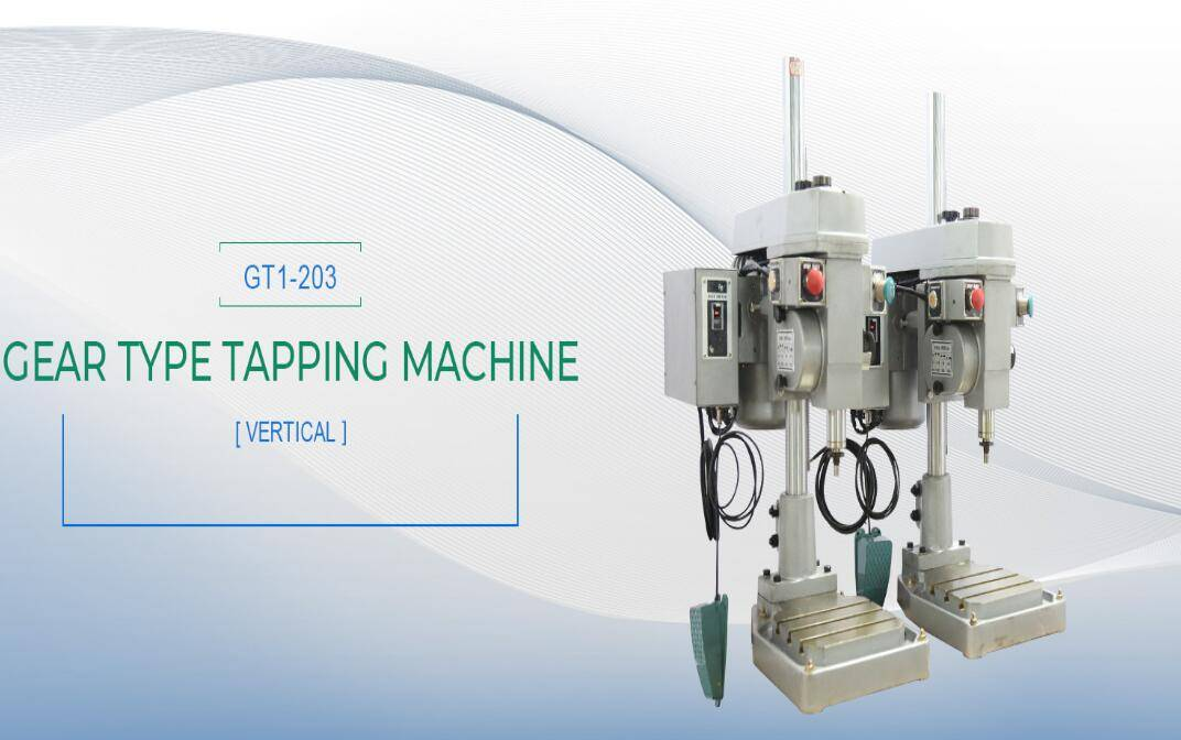 automatic tapping and drilling machine