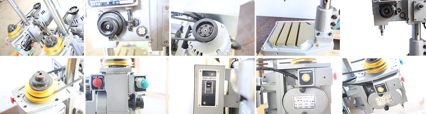 SS-4508 Gear Type Tapping Machine b