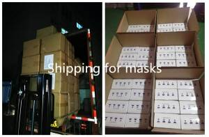 Factory Directly supply Mask Factory   Disposable Melt-blown Nonwoven Protective Mask Easy Earloop Face mask