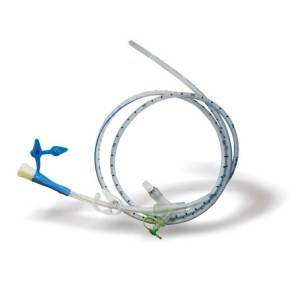 3-Way Connector Feeding Tube In Nose
