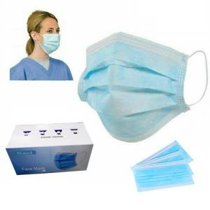 New Arrival China manufacturer china facemask 3 ply non-woven disposable face mask