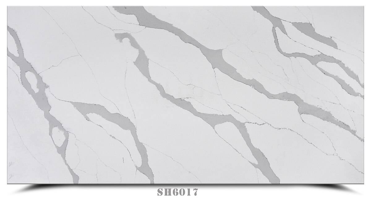 2019 New Style White Quartz Countertop -