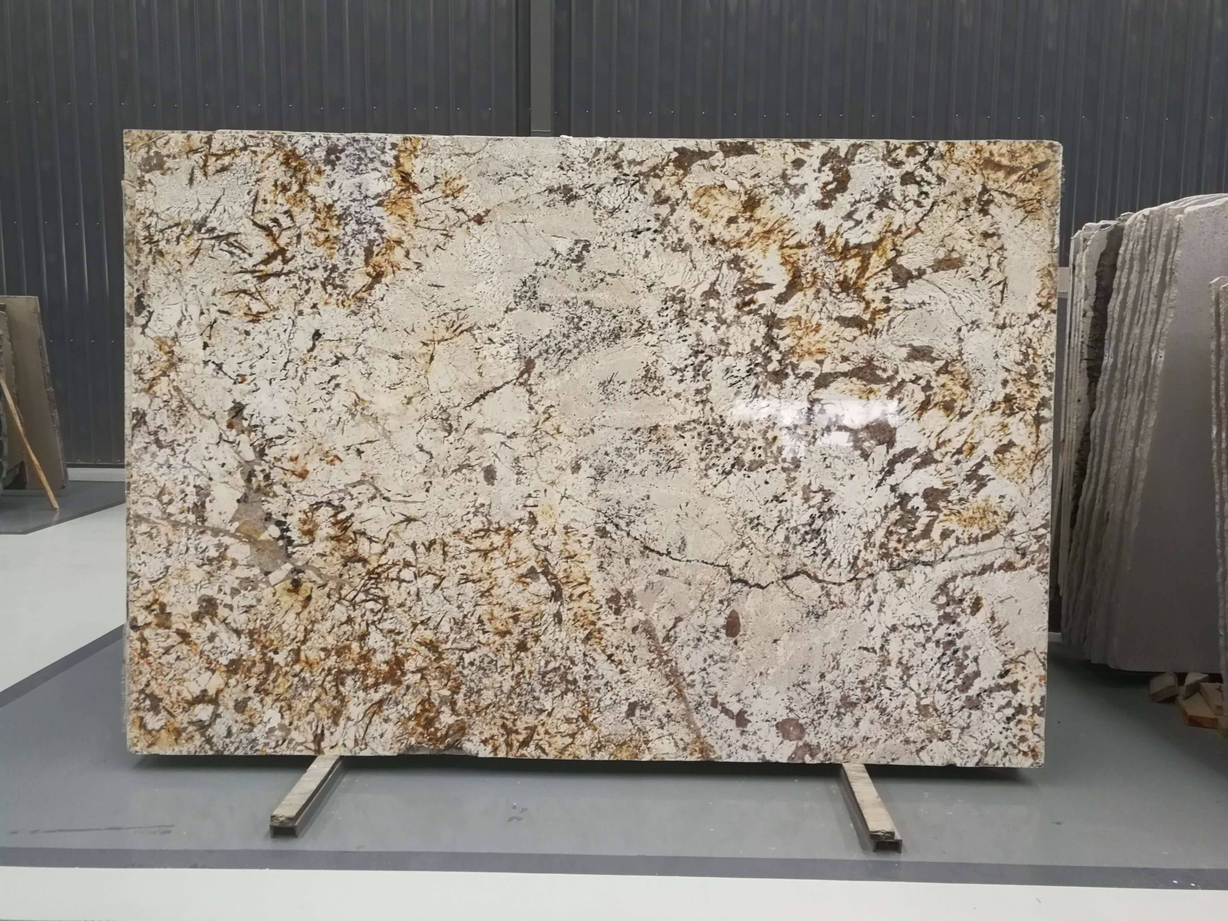 Cheap PriceList for Sunset Gold Granite Slabs -