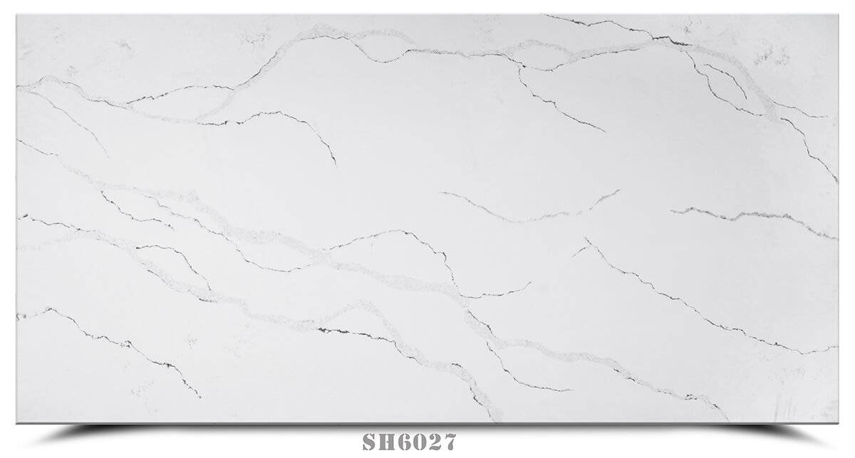 factory customized Ice Quartz Slab -