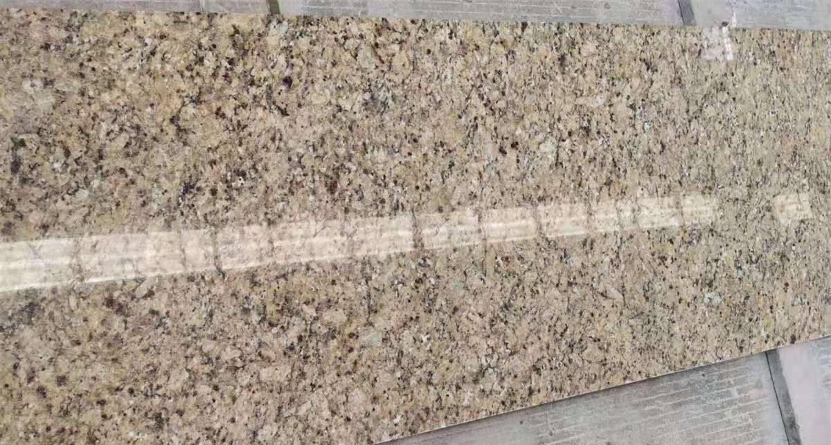 Factory wholesale Golden Flower Granite Slabs -