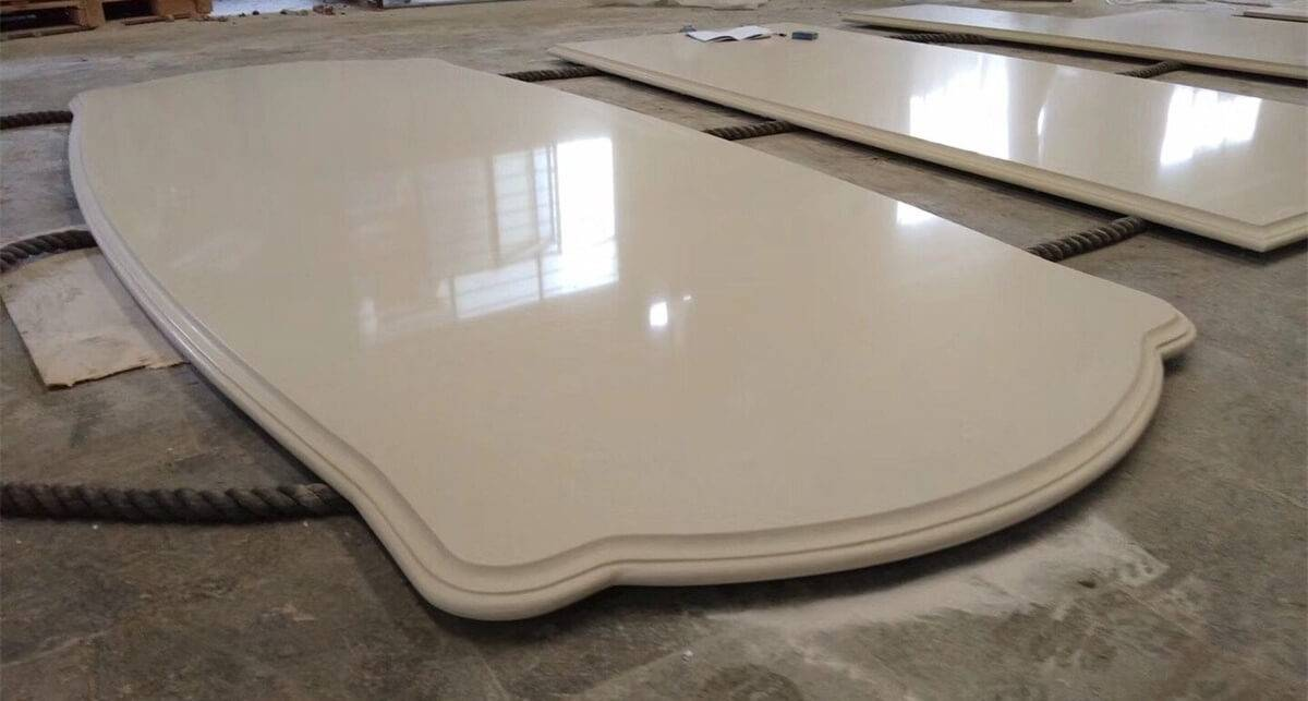 New Fashion Design for Quartz Countertops For Bathroom -