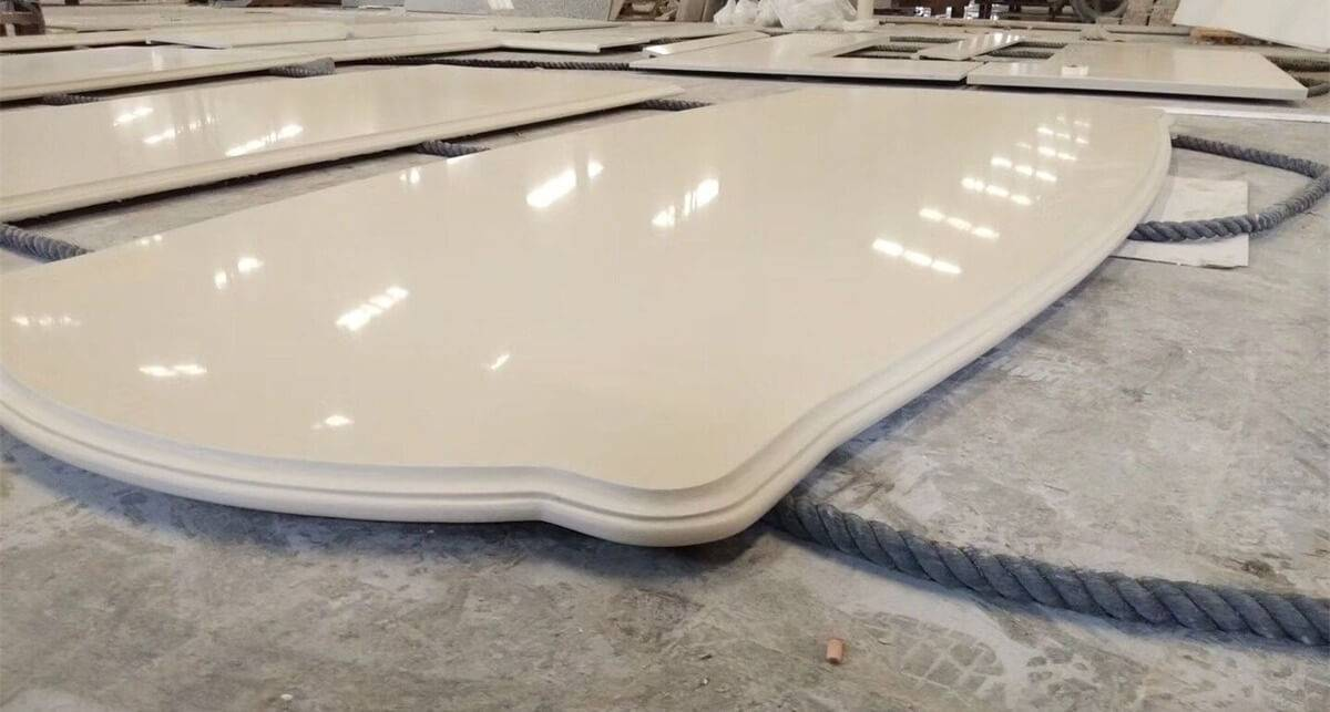 Factory wholesale Artificial Quartz Slabs For Kitchen Countertop -
