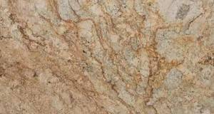 Golden Persa granite slab