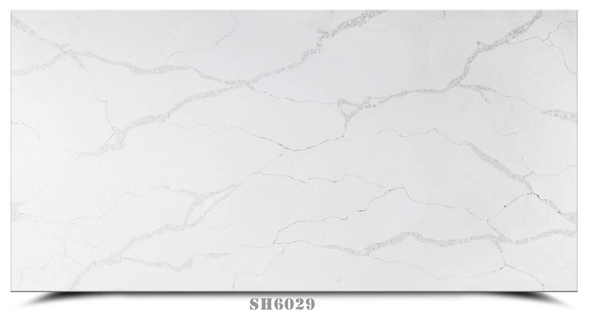 Factory making Calcutta Gold Quartz Slab -