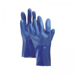 Chinese wholesale Nitrile Chemical Gloves -