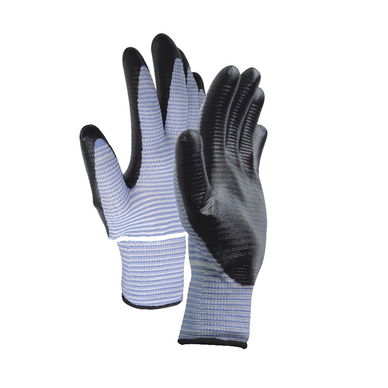 Factory Cheap Hot Nitrile Dipped Gloves -