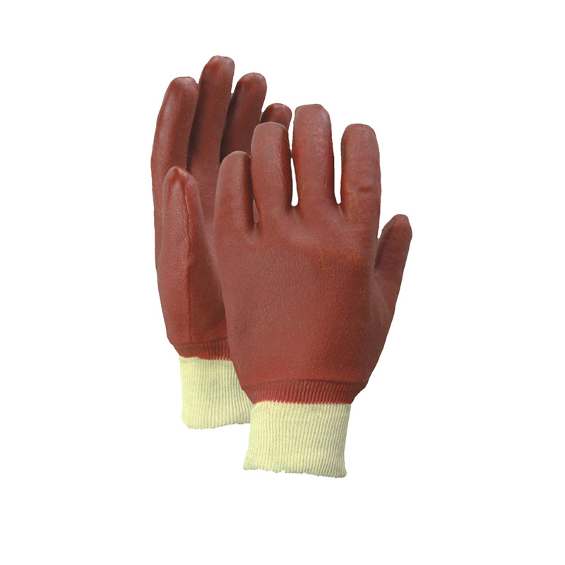 High reputation Pvc Coated Chemical Resistant Gloves -